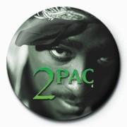 Pins Tupac - Green