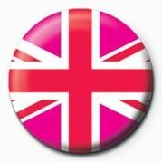 Pins  Union Jack (Pink)