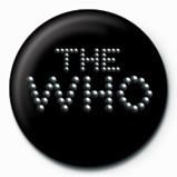 Pins WHO - pinball logo