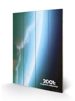 Pintura em madeira  2001: A Space Odyssey - Space Baby