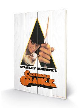 Pintura em madeira A Clockwork Orange - Dagger