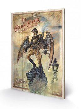 Pintura em madeira ALCHEMY - the black baron