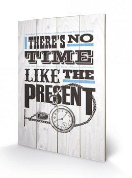 Pintura em madeira Asintended - No Time Like The Present