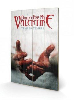 Pintura em madeira  Bullet For My Valentine - Temper Temper