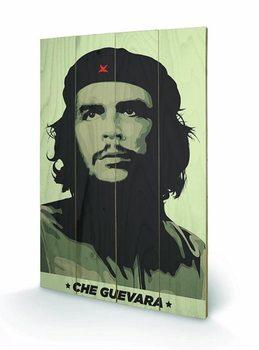 Pintura em madeira Che Guevara - Khaki Green