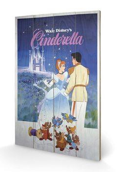 Pintura em madeira Cinderella
