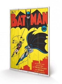 Pintura em madeira DC Comics - Batman No.1