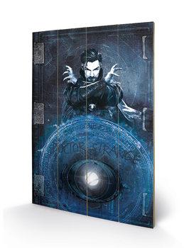 Pintura em madeira Doctor Strange - Enchantment