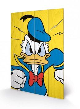 Pintura em madeira Donald Duck - Mad