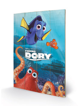 Pintura em madeira  Finding Dory - Characters