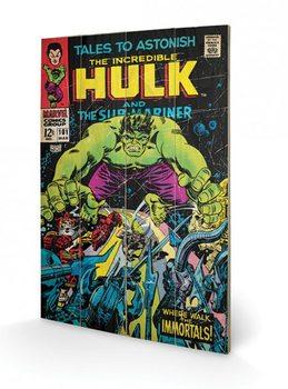 Pintura em madeira  Hulk - Tales To Astonish