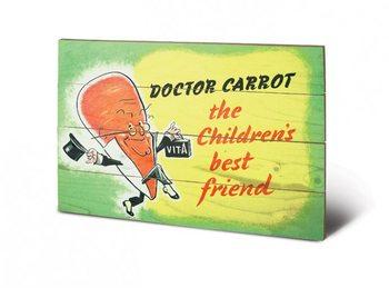 Pintura em madeira  IWM - doctor carrot