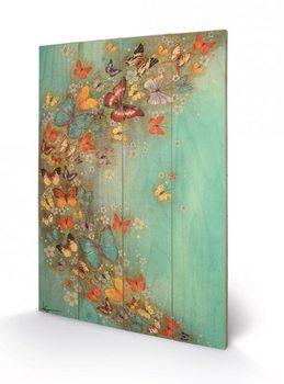 Pintura em madeira Lily Greenwood - Chinese Green