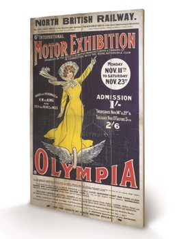 Pintura em madeira London Olympia