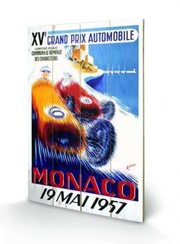 Pintura em madeira Monaco - 1957