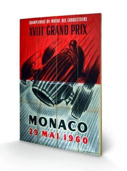Pintura em madeira Monaco - 1960