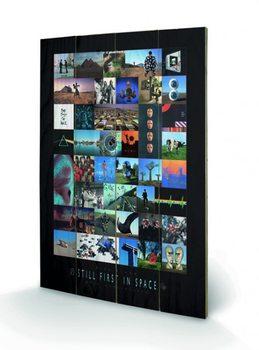 Pintura em madeira Pink Floyd - 40th Anniversary