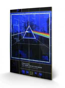 Pintura em madeira Pink Floyd - Dark Side of the Moon- 30th Anniversary