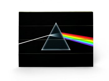 Pintura em madeira PINK FLOYD - dark side of the moon