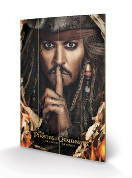 Pintura em madeira Pirates of the Caribbean - Can You Keep A Secret
