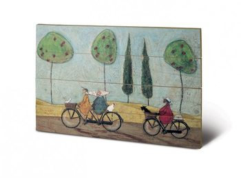 Pintura em madeira  Sam Toft - A Nice Day For It