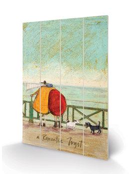 Pintura em madeira Sam Toft - A Romantic Tryst