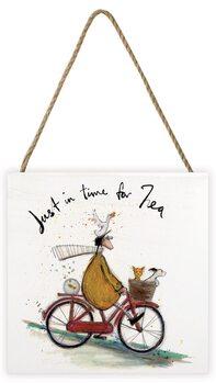 Pintura em madeira Sam Toft - Just in Time for Tea