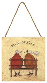 Pintura em madeira Sam Toft - Two Seater