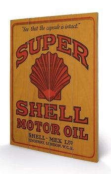 Pintura em madeira Shell - Adopt The Golden Standard, 1925