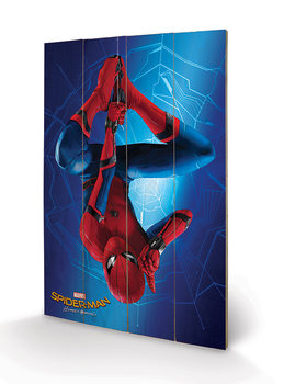 Pintura em madeira  Spider-Man Homecoming - Hang