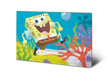 Pintura em madeira SpongeBob - Sea Stroll