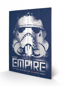 Pintura em madeira Star Wars Rebels - Enlist