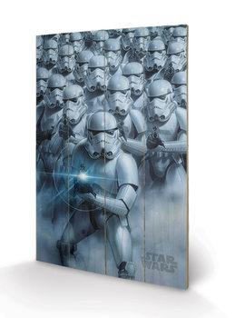 Pintura em madeira  Star Wars - Stormtroopers