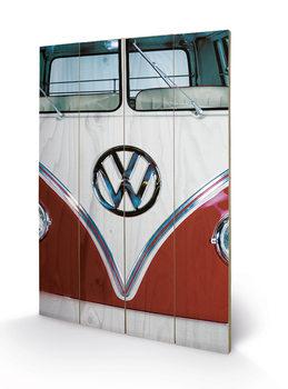 Pintura em madeira VW - Red