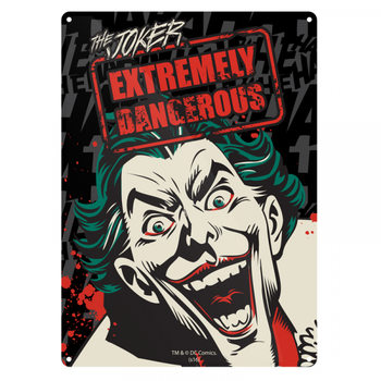 Placa de metal  Batman - Joker