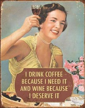 Placa metálica COFFEE - I Need It
