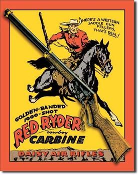 Placa de metal DAISY RED RYDER CARBINE