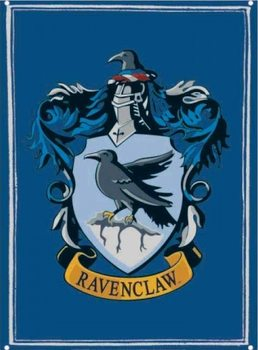 Placa de metal  Harry Potter - Ravenclaw