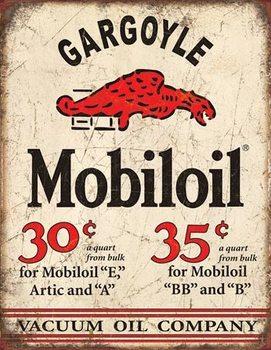 Placa de metal Mobil Gargoyle