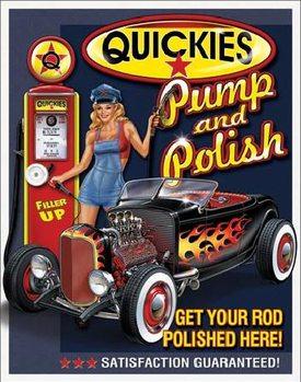 Placa metálica QUICKIES - Pump & Polish