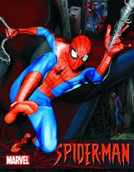 Placa de metal SPIDER-MAN