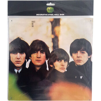 Placa metálica The Beatles - For Sale