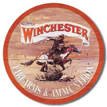 Placa de metal WINCHESTER EXPRESS