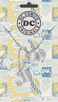 Plaque d'identité DC Comics - Logo Pendant