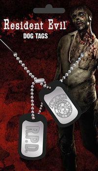 Plaque d'identité Resident Evil - Stars