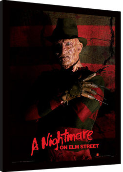 A Nightmare On Elm Street - Freddy Krueger Framed poster