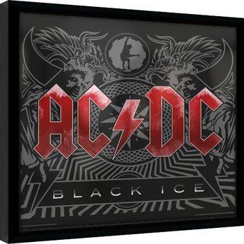 AC/DC - Black Ice Framed poster