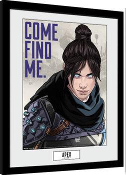 Framed poster Apex Legends - Come Find Me