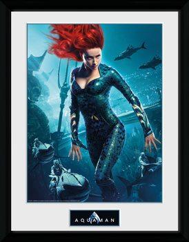 Aquaman - Mera Framed poster