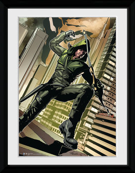 Arrow - Cover Green plastic frame